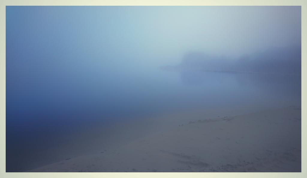 stranden är nu borta