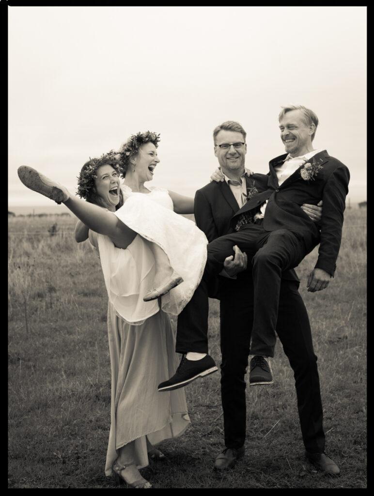 En fest är alltid en fest, ett bröllop, det är en fest